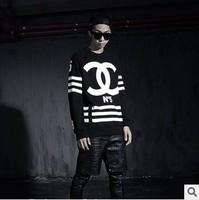 Homme Femme COCO CCFleece T-shirts, hoodies rock street side zipper