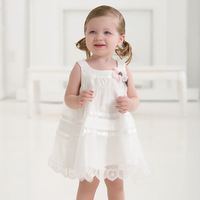 DB1553 davebella baby clothes french design wedding dress kids clothes evening dress baby girl summer dress baby fancy dress