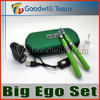 Big Ego CE4 kit Double  kit   in  eGo zipper case 650mah 900mah 1100mah battery Electronic Cigarette