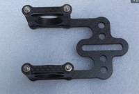carbon fiber monitor tray holder  free shipping with tracking number