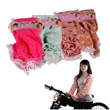 New Summer Long Thin lace fingerless UV Protection Sun Block Driving Gloves(China (Mainland))