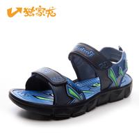 2014 boys big kids child children sandals foothold big boy sandals summer shoes blue red Youth Teenager