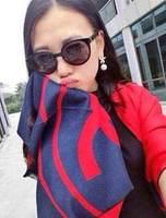 European and American style !2014 Winter BrandBrand Designer Scarf Women echarpes Long Shawl cashmere scarves scarf