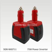 Car inverter 12v 110v 75W car power adapter converter bank  car charger 12v to 110v convers USB Car Charger  free shipping