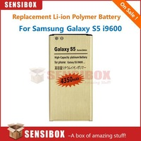 100pcs X Li-ion Polymer gold battery bateria Replacement for Samsung galaxy S5 4350mah used to replace the battery of S5 I9600