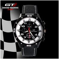 2014 F1 Men Sports Watch Luxury Brand Silicone Strap Fashion Quartz Movement Men Military Wristwatch Men's GT Watches