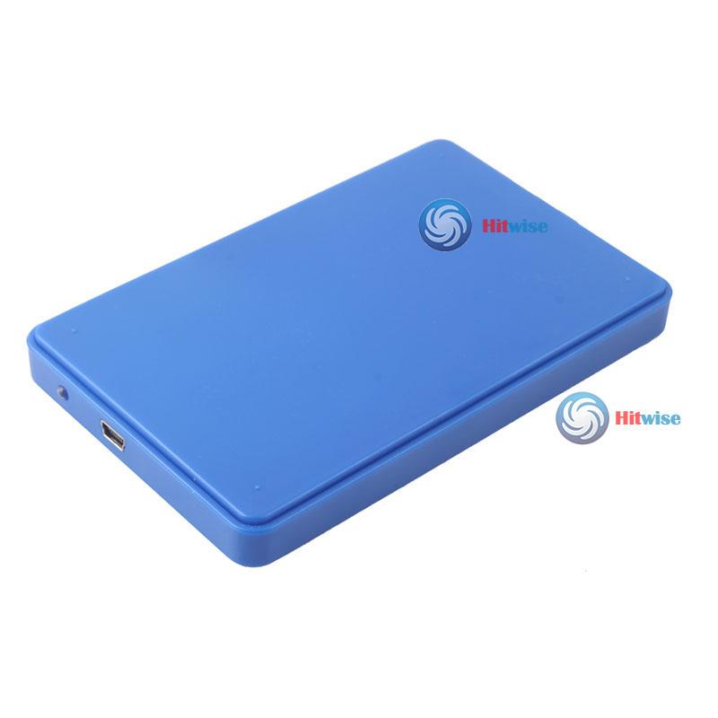 hitwise Ultra Slim USB2.0 2.5 SATA Hard Disk Driver HDD External Box Case Enclosure #18 wholesale(China (Mainland))