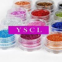 12 Color Metal Glitter Nail Art Tool Kit Acrylic UV Powder Dust gem Polish Nail Tools uv gel nail kit nails gel professional 061