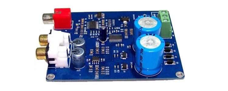 Аудио усилитель OEM Power amplifier audio decoder 2 /cs8416 + CS4398 24 BIT /192K