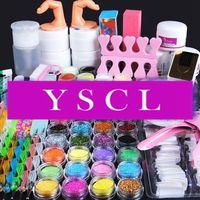 2014 Acrylic Powder Liquid UV Gel TopCoat Cleanser Plus dotting pen Nail Art fimo Glitter File Brush Tool Clipper Primer Kit 021