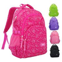 Multicolor Children School Bag Girls Boys Orthopedic Children School Backpack Primary Class 3-6 Students Large Satchel Portfolio