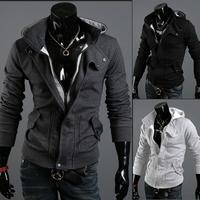 Free Shipping 2014/7/2 New Arrival Autumn Cotton Casual Men's Hoody Size M/L/XL/XXL/XXXL#516