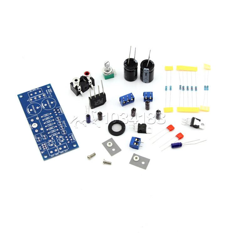 TDA2030A 2 canais de áudio estéreo Subwoofer Amplificador Kit DIY Circuit Board(China (Mainland))