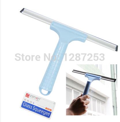 Promotion!! Anti-slip handle glass sponge window cleaning brush car window cleaning washing brush(China (Mainland))