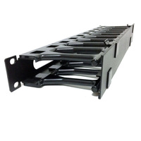 Free Shipping New  Horizontal Cable Management - 1U Heavy duty cable management 1U