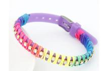 2014 Hot sale jewelry fashion unique candy color personality plastic women bracelet #fthxzm_10123612