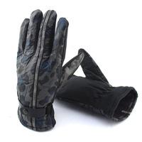(1pair/lot)Sports Glove! 2014 Winter Polyester Men And Women's Antiskid Ski Glove,Fashion Design Thick Climbing Mittens