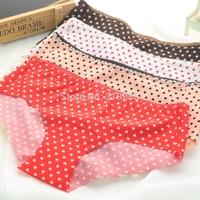 4 pcs/lot One piece seamless panties women's nylon wire smooth elastic sexy low-waist trigonometric careful nice bottom