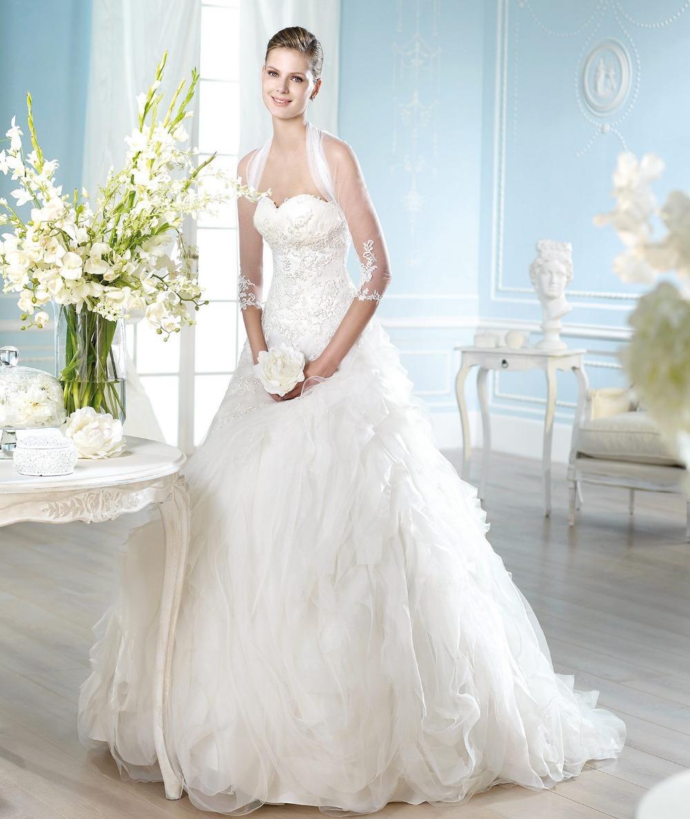 Vestido de novia fabrica en china