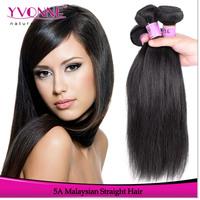 3Pcs/lot Malaysian Straight Hair,Grade 5A Unprocessed Virgin Hair Weave,100% Human Hair,12-28 Inches Aliexpress YVONNE Hair