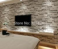 wallpaper modern wallcovering pvc roll wallpaper brick wall background wallpaper grey for living room
