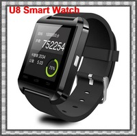 New Smartwatch Bluetooth Smart Watch WristWatch U8 U Watch for iPhone Samsung HTC Android Phone Smartphones+Anti-lost