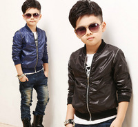 new 2014 autumn winter kids boy jacket coat casual children outwear