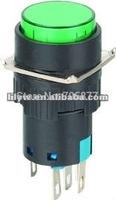 SPDT   6VDC      micro illuminated push button switch    16mm