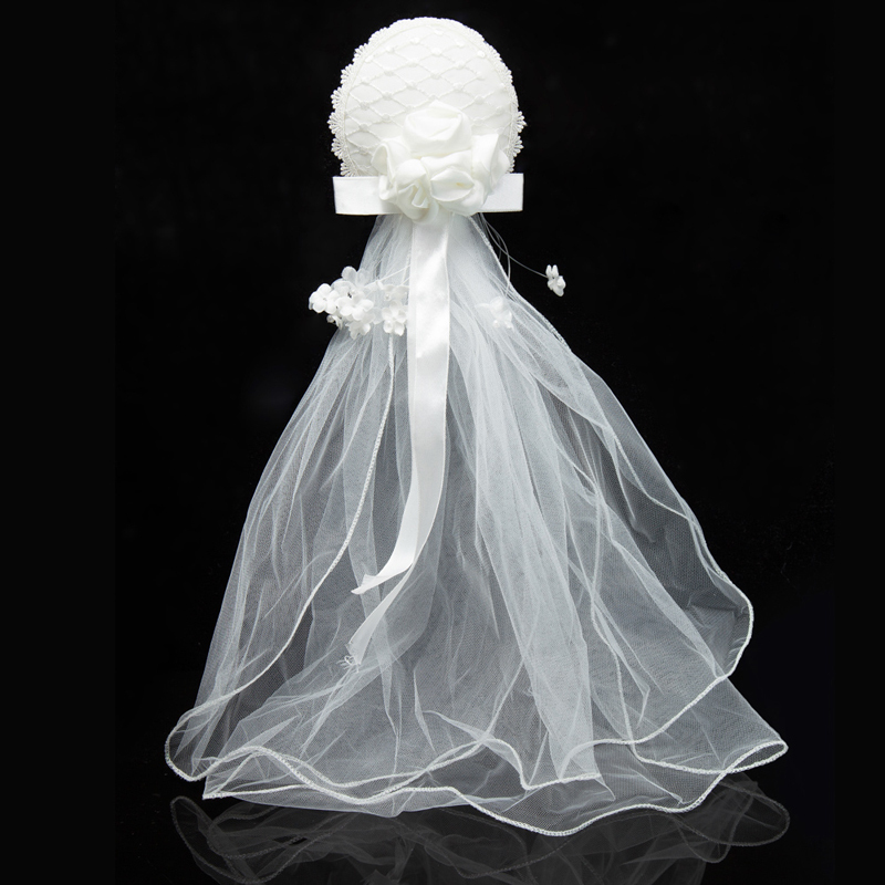 Top Selling Flowers Net Bridal Hair Wear Veil Decoration Wedding Accessory(China (Mainland))