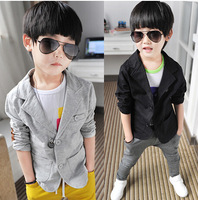 new 2014 autumn boy jacket fashion kids suit