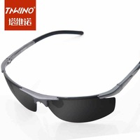 Genuine retro big influx of people men and women sunglasses glasses polarized sunglasses 2014 New Colorful Reflective Solar Eye