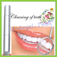 free shipping 1pcs/lot Teeth Whitening Pen Tooth Gel Whitener Bleach Stain Eraser Remove Instant drop ship
