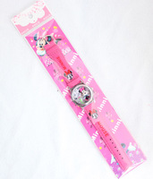 Wholesale - New 10 pcs Popular Minnie Cartoon watch Wristwatches Free Electronic Free Shipping
