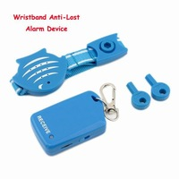 2PCS/lot ,Freeshipping Wristband anti-lost alarm,Baby Tracker Child Anti Lost Pet Reminder Alarm