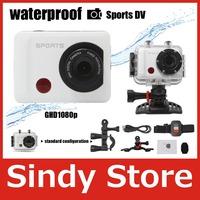 Full HD DVR DV Gopro Style Action F26 Camera Waterproof extreme1920 1080P G Senor Motor Sport Helmet Action Camera free shipping