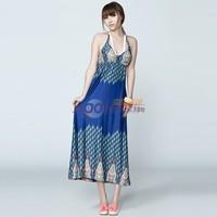 2014 PEACEBIRD women's print one-piece dress al1020268