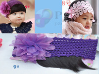 New arrival!! Flower Lace Headwear for baby Children's accessories Fashion /Free shipping 10pcs/lot