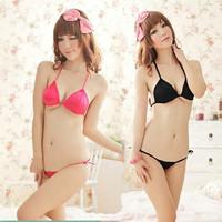 Three sexy two-piece bikini sexy lingerie