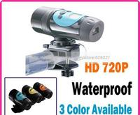 AT68 Hd 720P 10M Waterproof CMOS Sensor Action cam Helmet Sport Camera for Outdoor activity  and Underwater diving
