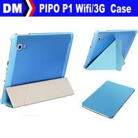 Free Shipping Original PIPO P1 Utra slim Flip Smart Shimizu Case,Cover for PIPO P1 WIFI 3G Quad Core RK3288 Tablet PC