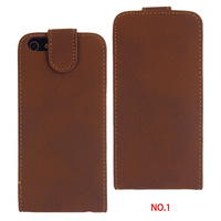 New arrival, Super Luxury N089 Flip Leather Stand Style Case Cover For iphone 4 4S 5 5S