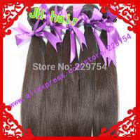Love Beauty Love Hair! Free Gift 100%Human Hair Brazilian Virgin Hair Natural Color 50g/pcs 6pcs Lot mixd length Free shipping