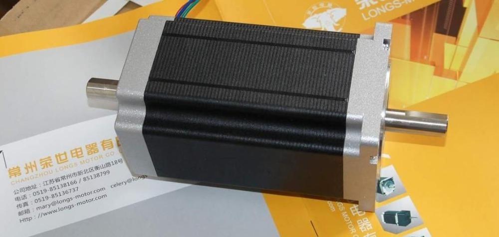 Шаговый двигатель LONGS-MOTOR Nema34 880oz/8wires CNC CNC /, 34HST9805-02B2 no tax to russia cnc carving machine 4030 z d300 cnc lathe mini cnc router for woodworking