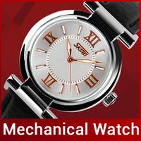 2014 New Fashion Brand Genuine Leather Strap Women Dress Watches Quartz Watch Waterproof Lady Casual Watches Clock Wristwatch