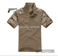 2014 New Summer T-shirt Men Tshirt Short Sleeve Outdoors Coolmax Sport Men T-shirt