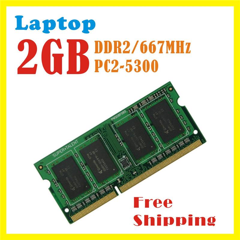 Ноутбук оперативной памяти ddr2 2 ГБ