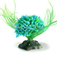 Artificial Plastic Seaweed Underwater Plant Fish Tank Aquarium Decor Landscaping Free Shipping