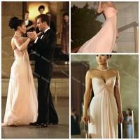 Cheap Jennifer Lopez A Line Sweetheart Floor Length Chiffon Celebrity Dresses Sexy Red Carpet Dresses 2014 Vestido De Festa