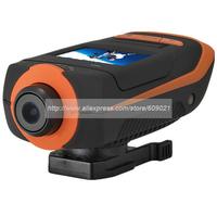 Full HD waterproof gopro 5 Mega CMOS 1080P160 degree  Mini Action Cam AT91 with Underwater 30M Waterproof Case  G-Sensor