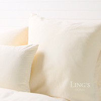 LiNg's Super Soft Brushed Microfiber Pillowcases 66 x 66cm Ivory Pillowcase For Home Deccor Free Shipping